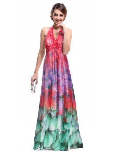 Ever Pretty Empire Line Floral Printed Chiffon « Clothing Impulse