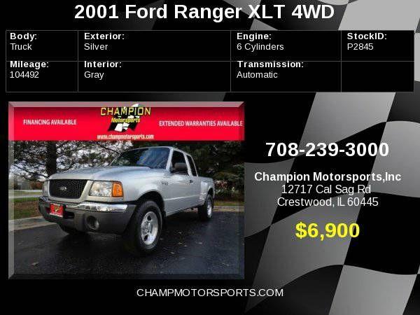 2001 Ford Ranger Supercab 4.0L XLT