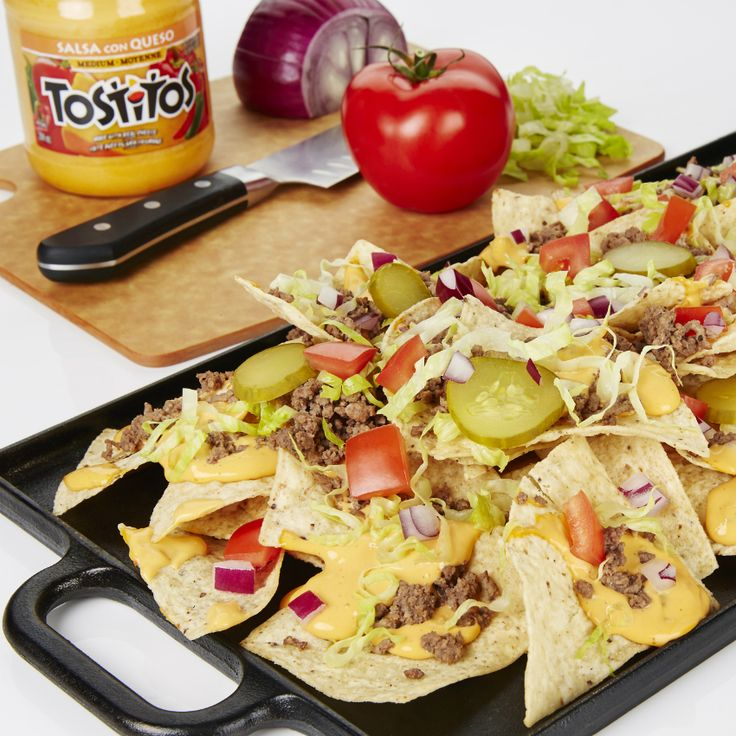 Cheeseburger Nachos - Create the tastiestCheeseburger Nachos, Tostitos® own Nachos recipe with step-by-step instructions. Make the best Nachos recipe for any occasion.