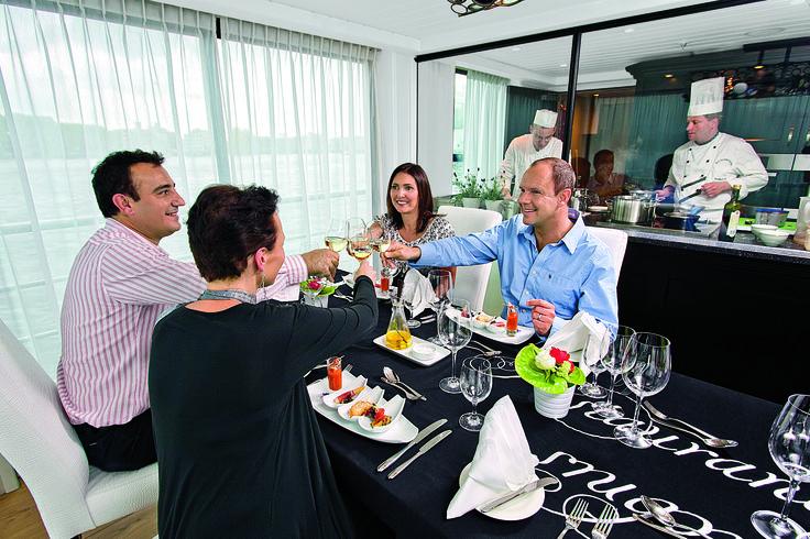 AmaWaterways - Restaurant aboard AmaBella