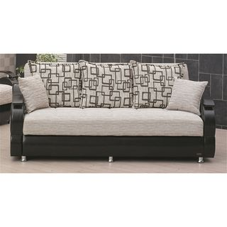 'Wisconsin' Two-tone Traditional Sleeper Sofa Bed | Overstock.com Shopping - Great Deals on Futons