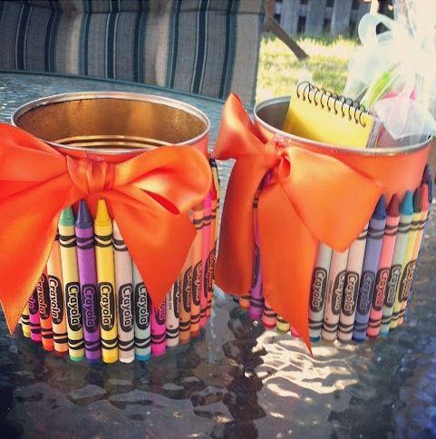 Portalápices de regalo para el dia del profesor