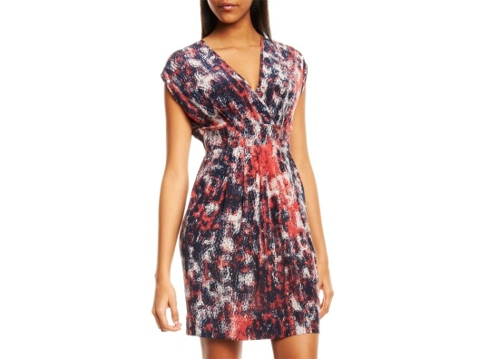 {Red/Navy Print Dress} by Akiko: Fashion Style, Akiko Print, Cute Dresses, Printed Dresses, Everyday Style, Dresses Skirts