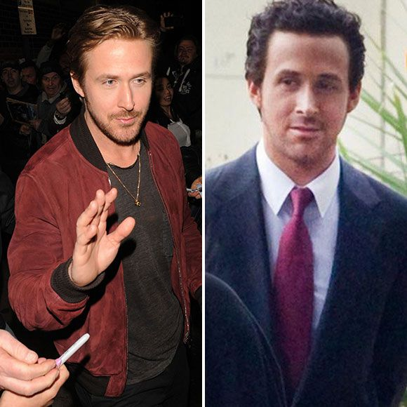Ryan Gosling se teint les cheveux en noir - HOT or NOT | HollywoodPQ.com
