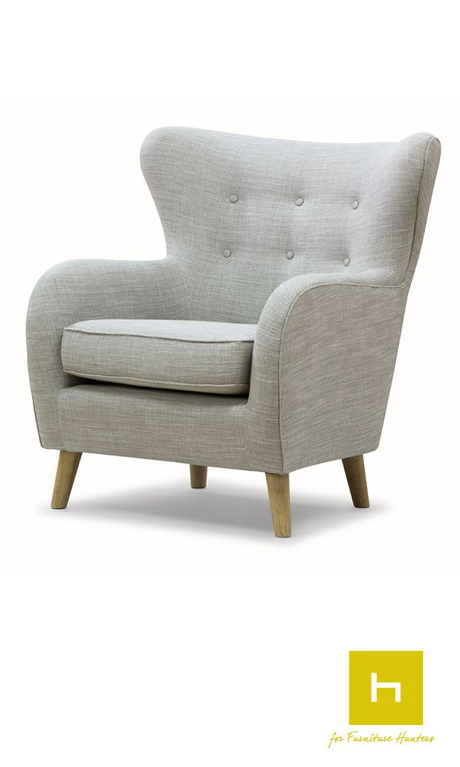 The Scandinavian Design furniture collection is of Nordic influence with an international twist and is composed of stylish and attractive products in line with today's popular interior trends.   #furniturehunters #armchair