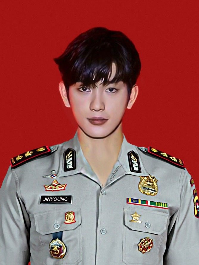 Park Jinyoung As A Police Officer Polisi