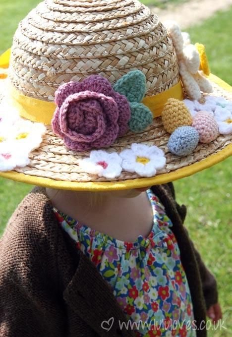 Free Crochet Patterns For Easter Bonnets : 20 best images about Easter bonnet on Pinterest Easter ...