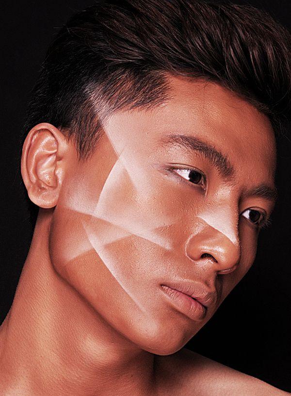 Male models on Behance | Photo. Lan Tran | Model. Tran Trung | Makeup. Ruan Dang