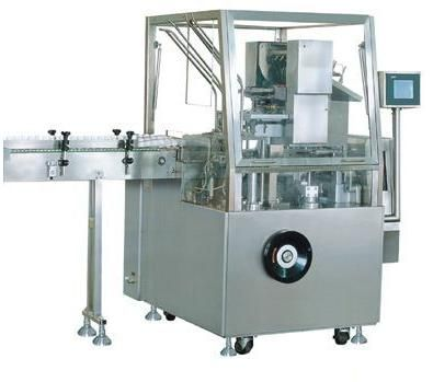 Cartoning machine for different size and packaging requirements
