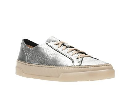 Clarks Hidi Holly, Silver Metallic, Womens Sports Shoes