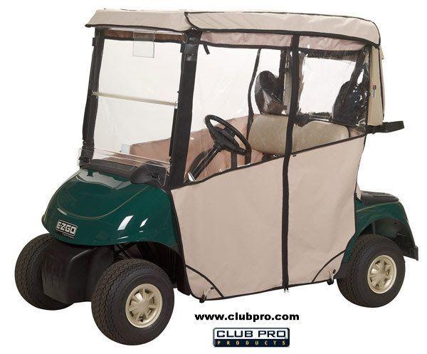 EZGO Golf Cart Enclosure RXV 3 Sided
