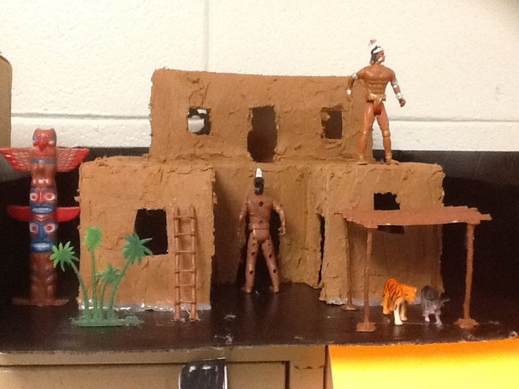 17 best images about school projects on pinterest for How to build a model pueblo house