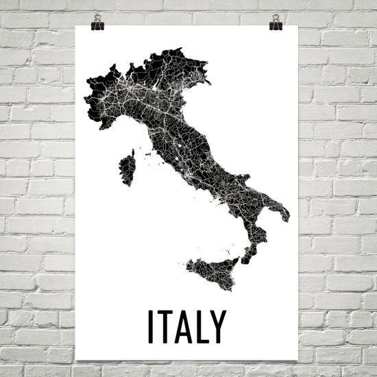 Italy Map, Map of Italy, Italy Wall Art, Italy Print, Italy Poster, Italian Decor, Italian Art, Italy Gifts, Italian Map, Italian Print  URL : http://amzn.to/2mOD07b 50% Discount Code :  QP4BKMDQ