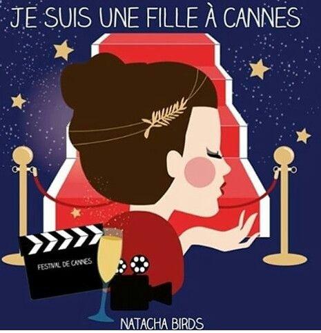 Je suis  une fille  à  Cannes