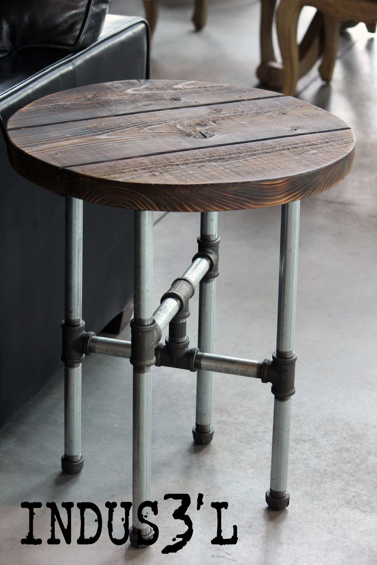 Luxury Rustic Pub Table and Stools