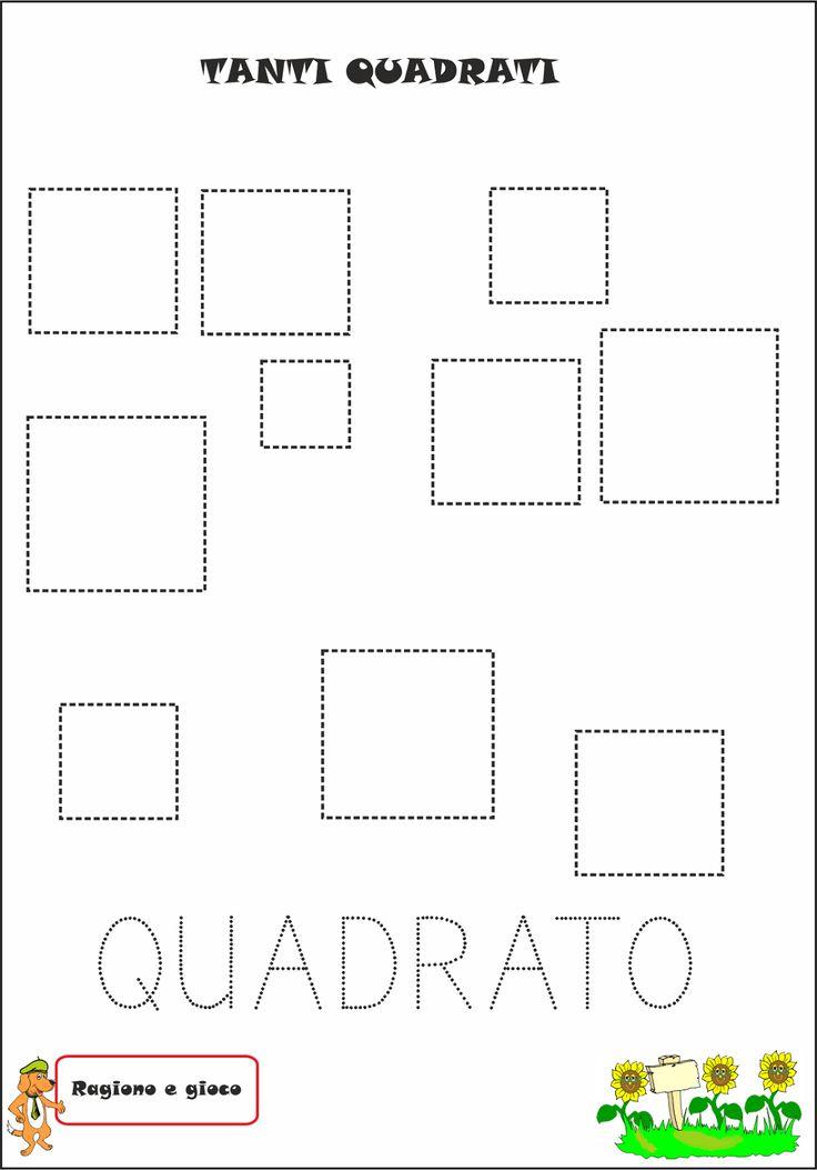 A Scuola con Poldo: La signora Quadratina e il paese di Quadratopoli