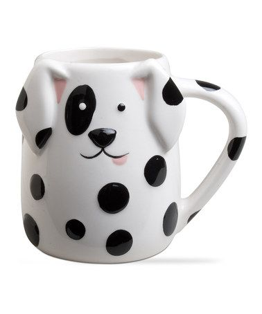 Love this Spotted Dog Mug on #zulily! #zulilyfinds