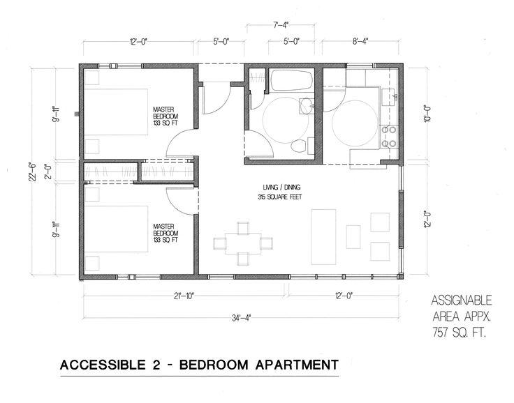 35 best aldea san miguel housing images on pinterest san for Ada bedroom