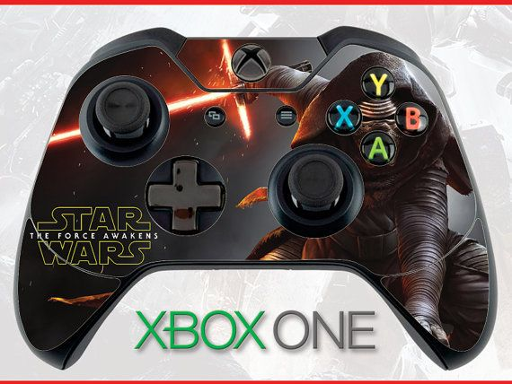 Star Wars Kylo Ren Battlefront Xbox One Controller by Decalxtreme