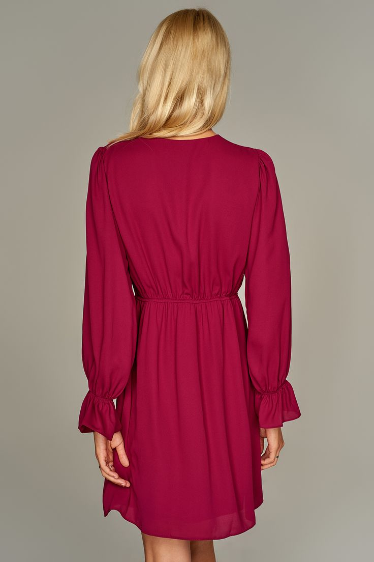 Pembe Kruvaze Elbise TRENDYOLMİLLA | Trendyol