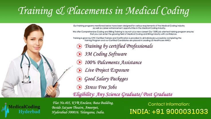 We are providing a medical coding training in Hyderabad. Join medical coding training with CPC Training and get 100% placement assistance and learn the advance of medical coding education and prepare for the certification exam.