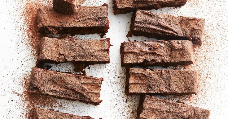 Avocado makes these brownies really fudgy and not so naughty. They're gluten-free and dairy-free too!