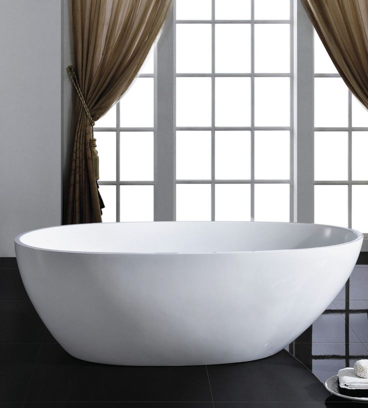 Eviva Sarah Free Standing Acrylic Bathtub Eviva Sarah Free Standing 60 Inch Acrylic  Bathtub Is One Of The Best Free Standing Tubs That Was Designed And ...