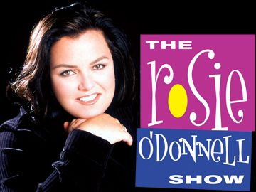 The Rosie O'Donnell Show -- (1996-2002). A Daytime television talk show. Hosted and Produced by Actress and Comedian Rosie O'Donnell. Co-Host: John McDaniel. Topics often discussed on the show include Broadway, Children, Extended Families and Charitable Works, People and Organizations.
