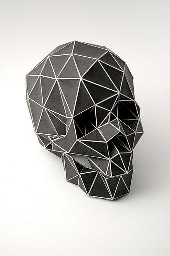 a skull...