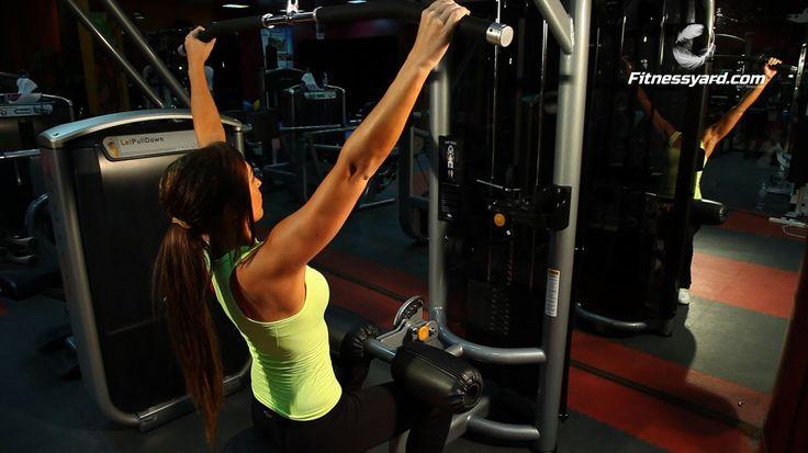 تمرين عضلات الظهر | سحب عمودي البار قبضة واسعة  #back #workout #bodybuilding #strong #cardio #training #fitness #exercise #muscles