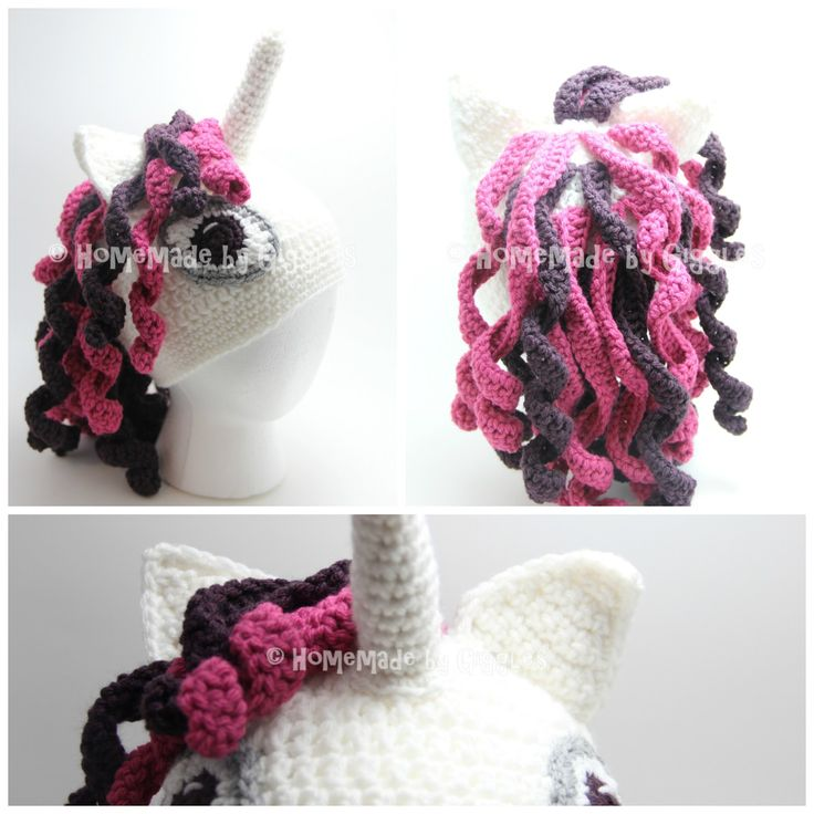 My daughter asked me if I could make her a unicorn hat... and I can't say no to my sweet little girl when it comes to crochet projects!!...