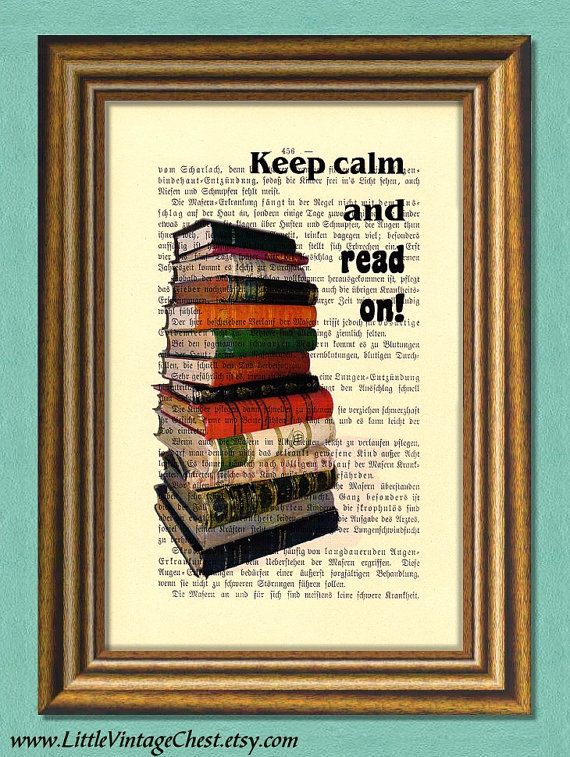 READ ON  Dictionary Art Print  Vintage Book by littlevintagechest, $7.99
