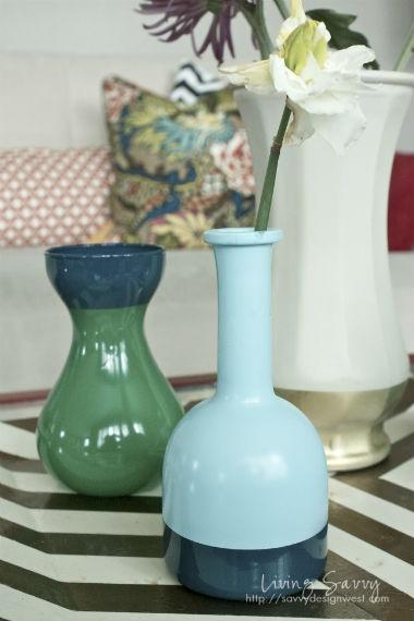 spray paint on glass priceless paint pinterest. Black Bedroom Furniture Sets. Home Design Ideas