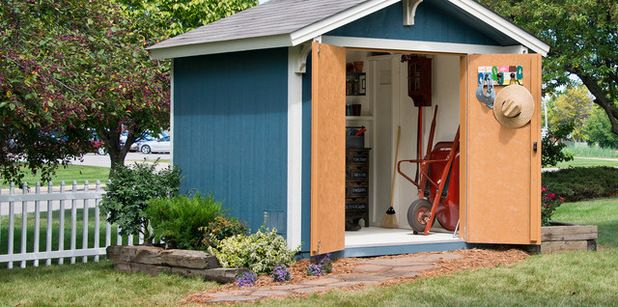 Traditional Shed by Backyard Buildings