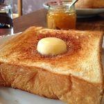 カフェ マメヒコ - 塩バタートースト旨し!