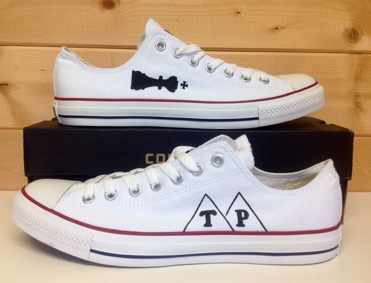 Owner of Custom Converse UK made these for and gave them to Dan Smith. He