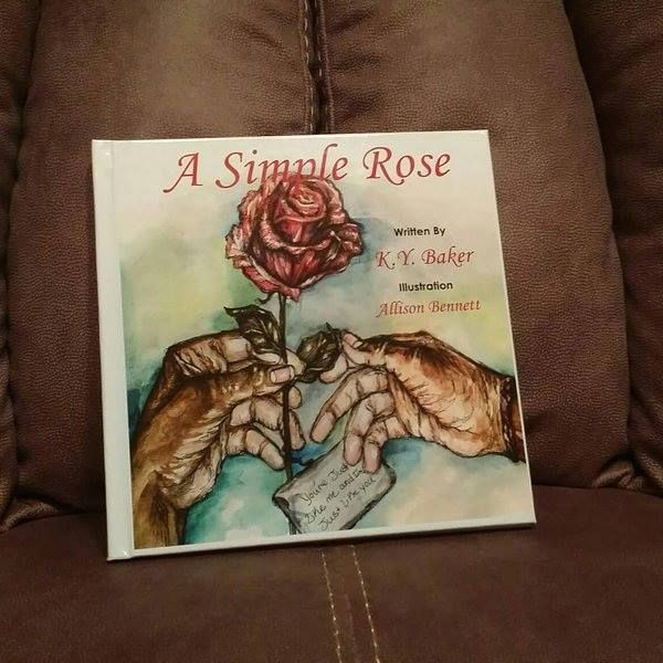 a simple rose hard copy