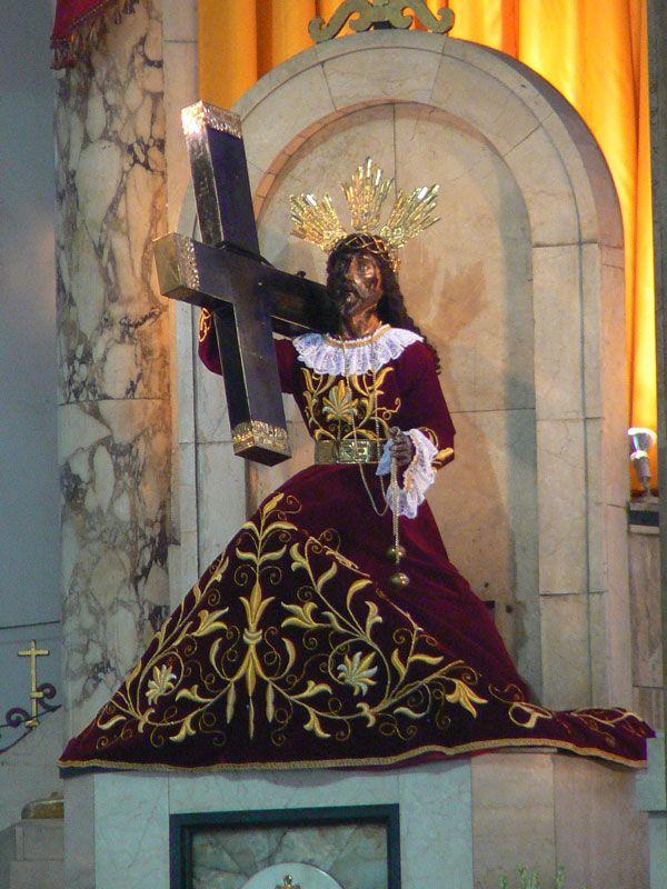 Devotion to the Black Nazarene. The Quiapo Church. http://www.pilgrim-info.com/asia-catholic-pilgrimages/philippines/quiapo-church/