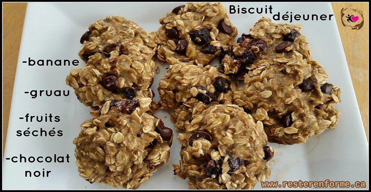 Biscuit à déjeuner santé au gruau et chocolat - Rester en forme avec Sandra - Beachbody francais