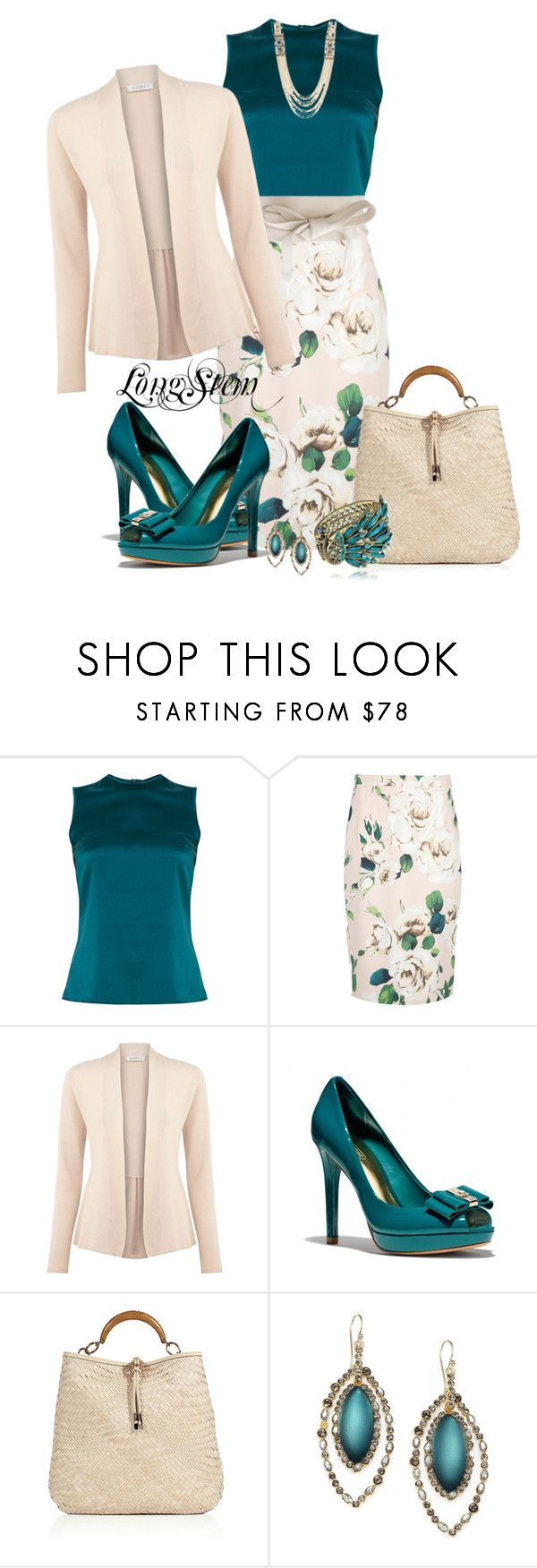 """Untitled #240"" by longstem ❤ liked on Polyvore featuring Safiyaa, Dolce&Gabbana, MANGO, Kaliko, Coach, Salvatore Ferragamo and Alexis Bittar"