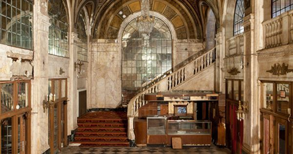 Opened as the Poli's Palace Theatre in 1922. Finished its days screening adult films in 1975. Was used in the 2010 film, All Good Things, starring Ryan Gosling and Kirsten Dunst, but is otherwise extant yet abandoned. Here's why the area declined: