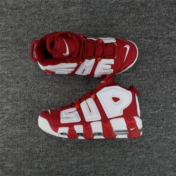 size 40 25bc2 a746d Supreme x Nike Air More Uptempo Varsity Red White 902290-600