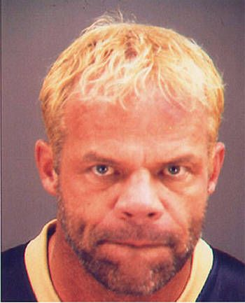 """ "" Lex Luger got into some major criminal trouble starting in 2003. He was arrested for domestic assault against Miss Elizabeth and two da..."