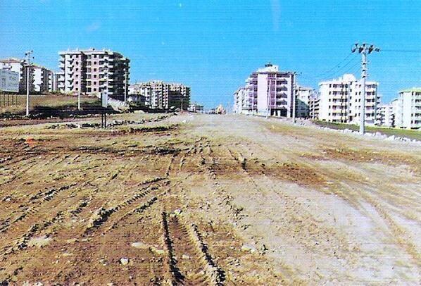 FATİH SULTAN MEHMET BULVARI'NIN YAPILIŞI / 1996