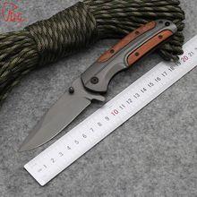 Dcbear DA43 Zakmes 440C Staal Jacht Survival Gereedschap met Hardheid 57HRC Tactische Mes Titanium Blade(China (Mainland))