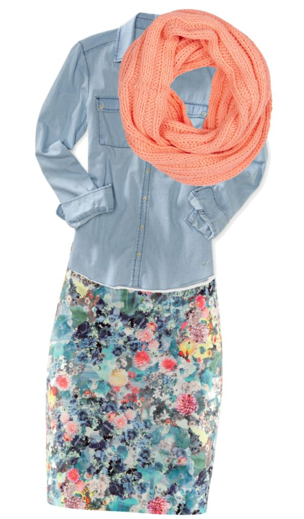 """Untitled #1"" by brandy-lynn-1 on Polyvore nix the scarf & I like it!"