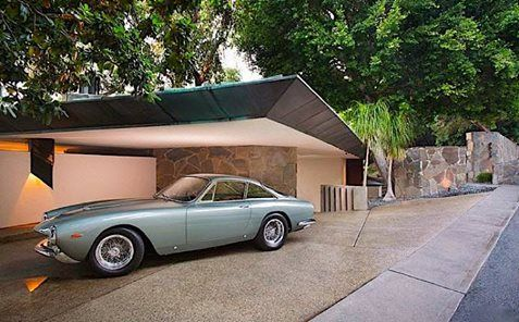 John Lautner's Wolff Residence wanted to be Fallingwater in the Hollywood Hills. Click on the image to see more of it.