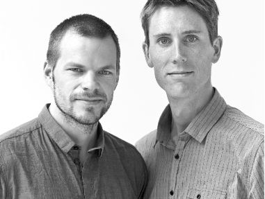 CableCup designers. Jonas Forsman and Lars Wettre