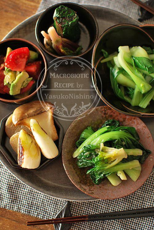 0128中華小鉢料理を楽しむ日。  青菜多め