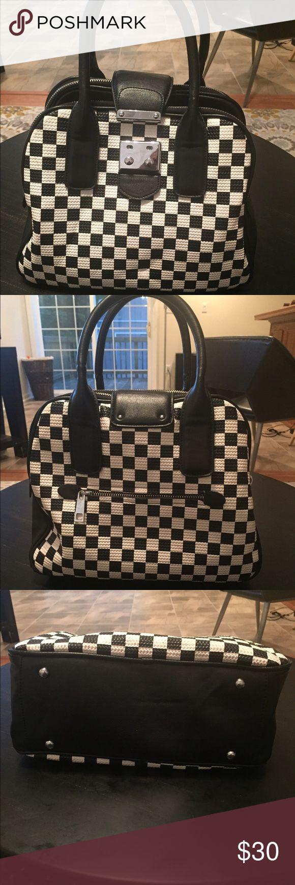 Selling this Checkered bowling bag. on Poshmark! My username is: honeyrenea. #shopmycloset #poshmark #fashion #shopping #style #forsale #Handbags